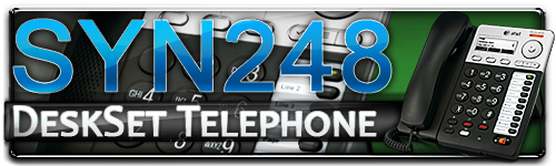 Syn248 DeskSet Telephone