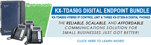Panasonic KX-TDA50G Digital Endpoint Bundle