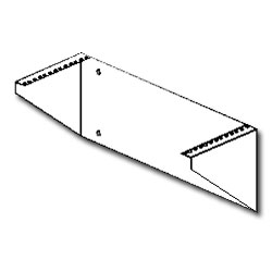 Southwest Data Products Flush Mount Wall Bracket - 7.5