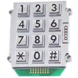 Ceeco Stud Mount Keypad