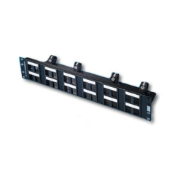 Legrand - Ortronics Standard Density TracJack Patch Panel Kit for 24 Modules