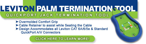 Leviton Palm Termination Tool
