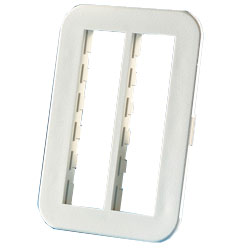 Legrand - Ortronics TracJack� Six-Port Beltline Herman Miller Furniture Plate