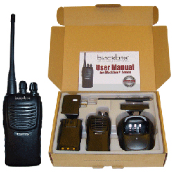 Klein Electronics Inc. Blackbox+ UHF 2-Way Radio
