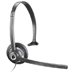 Plantronics M214C Cordless Phone Headset with 2.5mm Port