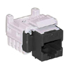 K610  TrueNet Category 5e Modular Jack, Black, RJ45 USOC