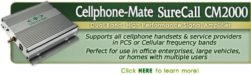 CellPhone Mate SureCall CM2000 Signal Amplifier Kit