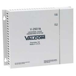 Valcom Single Door Answering Device-Activate Door Locks