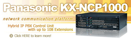 Panasonic KX-NCP1000 Hybrid IP PBX Control Unit