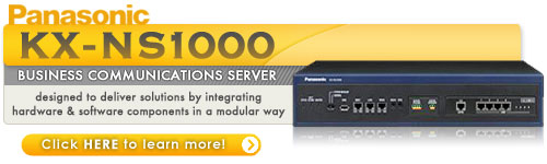 Panasonic KX-NS1000 - Office Communication Systems