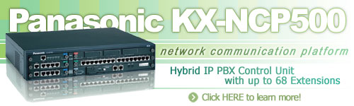Panasonic KX-NCP500 Hybrid IP PBX Control Unit