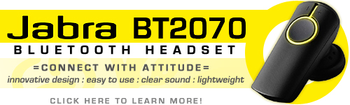 Jabra BT2070 Bluetooth Headset