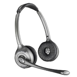Plantronics WO350 Savi Office Over-the-Head Binaural Wireless Headset System