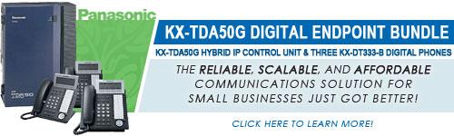 Panasonic KX-TDA50G Digital Endpoint Bundle