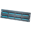 Clarity 6 48-Port Category 6 Patch Panel, Six-Port Modules