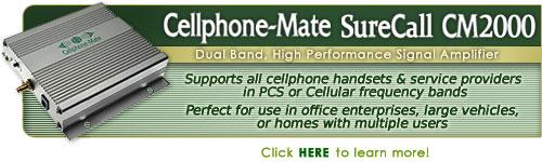 CellPhone Mate SureCall CM2000 Signal Amplifier Kit