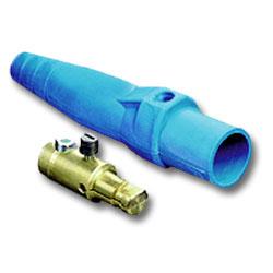 Leviton 16 Series Taper Nose Detachable Plug with Single Set Screw - Male