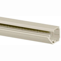 Hubbell PP1 PremiseTrak Latching Single Channel Raceway Base and Cover