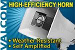 High-Efficiency Horn, 5-Watt