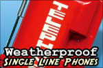 Allen Tel Single Line Weatherproof Phone