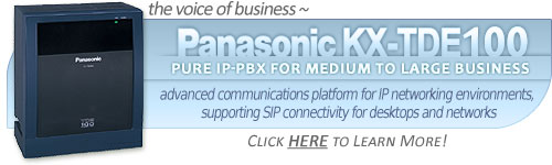 Panasonic KX-TDE100 Converged IP PBX