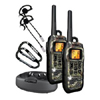Submersible/Floating 50 Mile Range FRS/GMRS Radios With 2 Carabiners