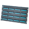 Clarity 6 96-Port Category 6 Patch Panel, Six-Port Modules