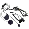 Open Face Helmet Headset Kit with Boom Mic