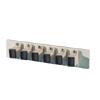 Bottom Adapter Plate, 6-MT-RJ Duplex (12 Fibers) Multimode, Beige Adapters