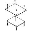 FloorPort Series Blanking Plate