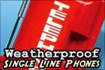 Allen Tel Single Line Weatherproof Phone