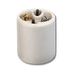 Leviton Medium Base, One-Piece, Keyless, Incandescent, Glazed Porcelain (Package of 200)