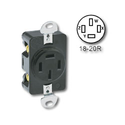 Leviton Flush Mount Receptacle
