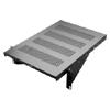 Cantilevered Vented Equipment Shelf, 17.5