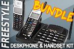EnGenius FreeStyl1 Cordless Phone Bundle