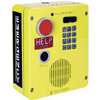 Surface-Mount Emergency Telephone with Keypad with Voice Annunciation & Extreme Cold Weather Option, Aluminum
