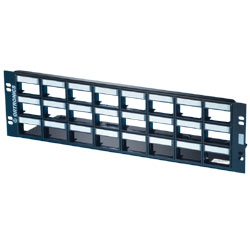 Legrand - Ortronics Series II Patch Panel Kit for 24 Series II Modules