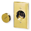 Receptacle, Display Type, Brown Phenolic, with .060