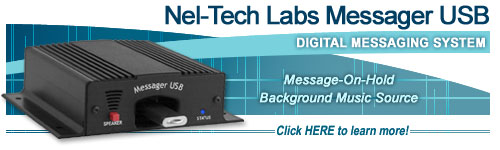 Nel-Tech Labs Messager USB with USB Drive
