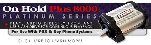 On-Hold USB Flash Drive Digital On-Hold Audio System