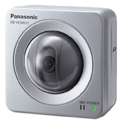 Panasonic i-PRO PoE (Power over Ethernet) MPEG-4 Fixed Color Network Camera