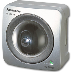 Panasonic Network Camera with 2-Way Audio