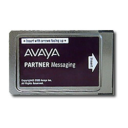 Avaya Partner Messaging 4 Port PCMCIA Card