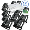 KX-TA824 Phone System Bundle with (12) KX-T7731 Speakerphones and (1) KX-TA82483 (3x8) Expansion Card