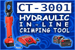 Panduit Lithium-Ion Powered Hydraulic In-Line Crimping Tool
