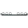 Strain Relief Bar with Hook and Loop Ties