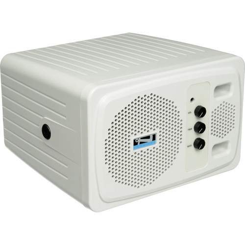 AC Powered Portable Speaker Monitor with Magnetically Shielded Speaker