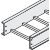 Aluminum PW Cable Tray, Straight Section, 10'