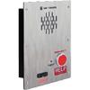 Ramtel Emergency Telephone Retrofit, Single Button, Flush-Mount with Voice Annunciation Option