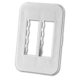 Legrand - Ortronics TracJack™ Four-Port Beltline Herman Miller Furniture Plate